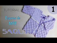 How to Crochet a Baby Jacket - Design Peak Diy Crochet Gloves, Crochet Cowel, Crochet Braid Pattern, Crochet Clothes, Crochet Hairband, Liliana Milka, Braidless Crochet, Beginner Crochet Tutorial, Clothing Hacks