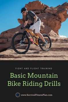 https://www.survivalfitnessplan.com/mountain-bike-riding-drillsLearn and teach others these basic mountain bike riding drills. #mountainbiking #mtb #adventure Mountain Biking for Beginners, Mountain Biking Tips, Mountain Biking Photography, Mountain Biking Training https://www.survivalfitnessplan.com/mountain-bike-riding-drills PIN THIS FOR LATER!