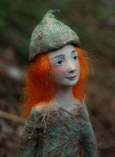 Red haired fairy doll