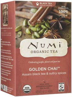 Numi Teas Tea Black Gldn Chai Spcd Assam >>> Want additional info? Click on the image. (This is an affiliate link and I receive a commission for the sales)