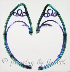Peacock Elf Ears by InnBetween on Etsy, $30.00