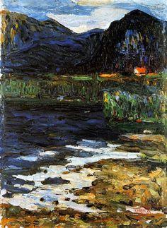 Wassily Kandinsky, Schlehdorf, 1902