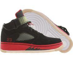 Nike Air Jordan Force 5 AJF5 (black / varsity red / white) 318609-062 - $119.99