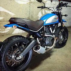 Fresh color change to my Urban | Ducati Scrambler Forum