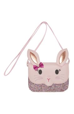 Novelty Pink Rabbit Satchel Bag