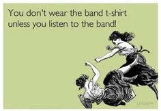 hahah!! :P I happen to wear my M&S t-shirt to every concert I go ever since I got it!! I'm so proud of them!! I wore it to a Muse concert!! :P