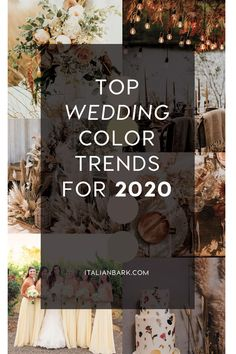 Discover the latest wedding color trends for 2020 and plan your perfect wedding with our inspirations! Wedding Bouquets, Wedding Flowers, Wedding Day, Wedding Notes, Wedding Paper, Floral Wedding, Wedding Reception, Rustic Wedding, Wedding Dresses