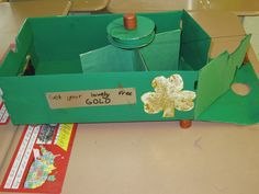 leprechaun traps simple machines | Kruses Doing Their Personal Best Science Projects, School Projects, Craft Projects, Science For Kids, Activities For Kids, Crafts For Kids, St Patricks Day Quotes, Leprechaun Trap, Simple Machines