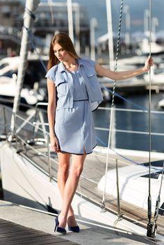 Sukienka w pepitkę. Kolekcja Wisona-Lato 2016