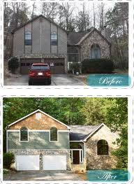 Before Amp After Curb Appeal On Pinterest Curb Appeal