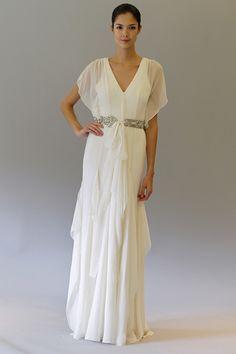 boho chic, helena dress, wedding dressses, grecian style, weddings, dresses, carolina herrera, herrera helena, art deco