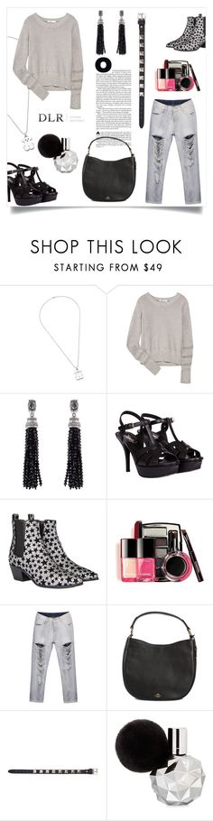"""Без названия #351"" by mahafromkailash on Polyvore featuring мода, TOUS, T By Alexander Wang, Oscar de la Renta, Yves Saint Laurent, Chanel, Coach и Valentino"
