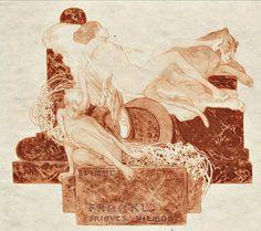 Exlibris / Franz von Bayros.