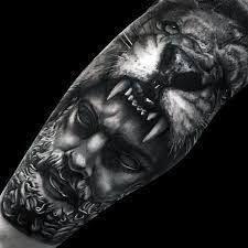 Risultati immagini per hercules tattoo sleeve