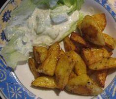 Rezept Wedges (Kartoffelspalten) wie bei Mc Do**lds Rezept des Tages 09.07.2014 von Tina 1964 - Rezept der Kategorie Beilagen