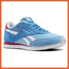 Reebok - Royal CL Jog 2HS - V68922 - Color: Blue-White - Size: 7.5 - Sneakers for women (*Amazon Partner-Link)