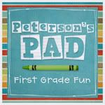 Sheree at Peterson's Pad.  AWESOME first grade blog!!!