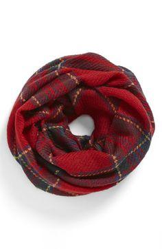 infinity tartan scarf
