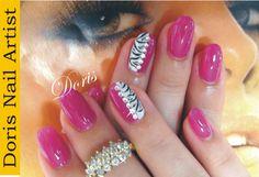 Gel nail art by Doris