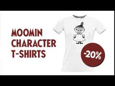 Moomin 70 - Surprise #7 - YouTube 70th Anniversary, Moomin, Campaign, Youtube, Mens Tops, T Shirt, Tee Shirt, T Shirts, Youtubers