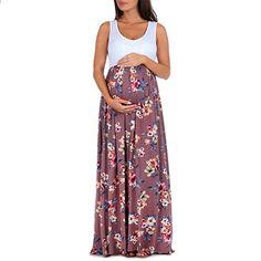 Women Summer Pregnant floral Maxi Dress Maternity Photography Sundress O  Neck Floral Lace Sleeveless Nursing Maternity Dress 6fafd20cba2f8