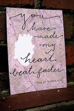 You have made my heart beat faster. song of solomon #scripture #love