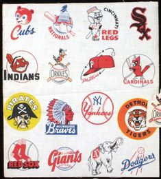 Vintage Baseball Graphics