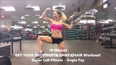 Exercise Videos, Workout Videos, Chair Workout, Chair Exercises, Body Weight, Sporty, Fitness