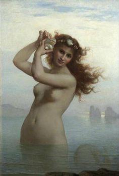 La Sirène - Charles Landelle, 1879 - セイレーン - Wikipedia