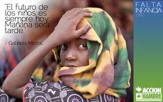 A los niños lo que les gusta es ser niños. Pero todavía hay muchos en el mundo a los que les sigue faltando infancia. Queremos alimentar su futuro. Ayúdanos, entra en http://www.faltainfancia.org