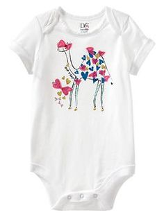 Diane von Furstenberg ♥ babyGap graphic bodysuit - Fashion icon Diane von Furstenberg takes us on a voyage of discovery with her colorful collection featuring exotic prints and patterns that embraces the explorer from newborn to 14 years old.