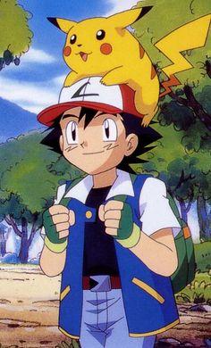 Ash Ketchum and Pikachu - Pokémon