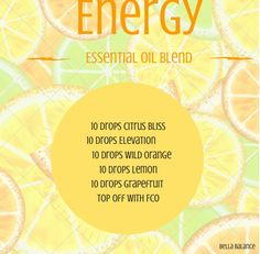 doTERRA essential oil rollerball recipe for energy