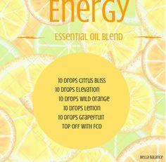 doTERRA essential oil rollerball recipe for energy