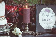 Voodoo and Pagan Witch Wedding Shoot