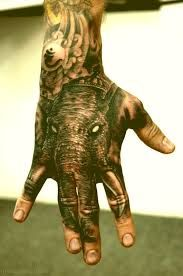 Image result for elephant hand tattoo