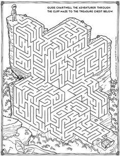 free maze printable Vyrábění Pro Děti