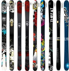 Loon Mountain Sports carries a variety of Salomon skis.