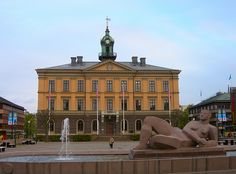 Gävle - The Townhall 4th Street, Sweden, Louvre, Adventure, Mansions, House Styles, Building, Places, Travel