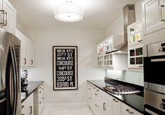 galley kitchen pass through | Galley Kitchen Design Ideas That Excel