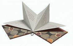 Trianglebook by Monica Langwe Handmade Journals, Handmade Books, Kirigami, Book Crafts, Paper Crafts, Cd Packaging, Paper Folding, Book Projects, Book Binding