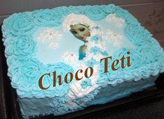 Bolo da Elsa: 80 Modelos Fantásticos Para se Inspirar! Bolo Frozen, Bolo Elsa, Cake, Desserts, Food, White Frosting, Cake Ideas, Decorating Cakes, Kids Part