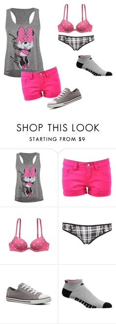 """Bez naslova #37"" by andrea-directioner ❤ liked on Polyvore featuring Disney, Monkee Genes, Converse and Puma"