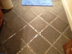 Bordered tile