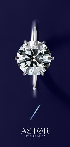 Light up the room. Every Astor by Blue Nile™ diamond is hand selected, specifically cut, and double certified for unmatched sparkle. Engagement Ring Pictures, Classic Engagement Rings, Antique Engagement Rings, Diamond Engagement Rings, Wedding Earrings, Wedding Jewelry, Wedding Ring, Wedding Bands, Diamond Rings
