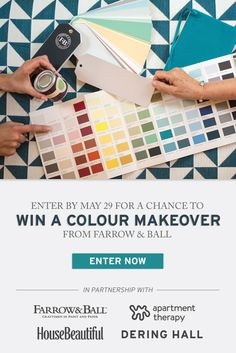 We dream in colour sweepstakes
