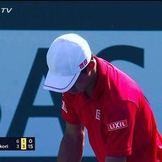 Pinを追加しました!/錦織圭選手 vs Jack Sock 錦織選手第1セット落としたが、第2セット先にブレイク! #go錦織 #keinishikori #indianawells #tennis #tennistv