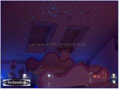 gwiezdne niebo jak zrobić - gwiezdne niebo montaż - gwiezdne niebo sypialnia e-technologia
