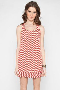 Mal, I love this chevron dress for you.  You can add a cardigan, leggings, and either ballet flats or boots in these cold months or a nice pair of sandals in the spring and summer!