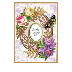 Anna Griffin® Wildflower Craft Box with Finishing School - Auto-Ship® - 9360457 Pop Up Flowers, Wild Flowers, Card Making Kits, Making Ideas, Finishing School, Anna Griffin Cards, Easel Cards, Craft Box, Pop Up Cards